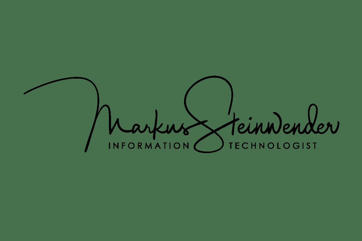 Markus Steinwender - Information Technologist